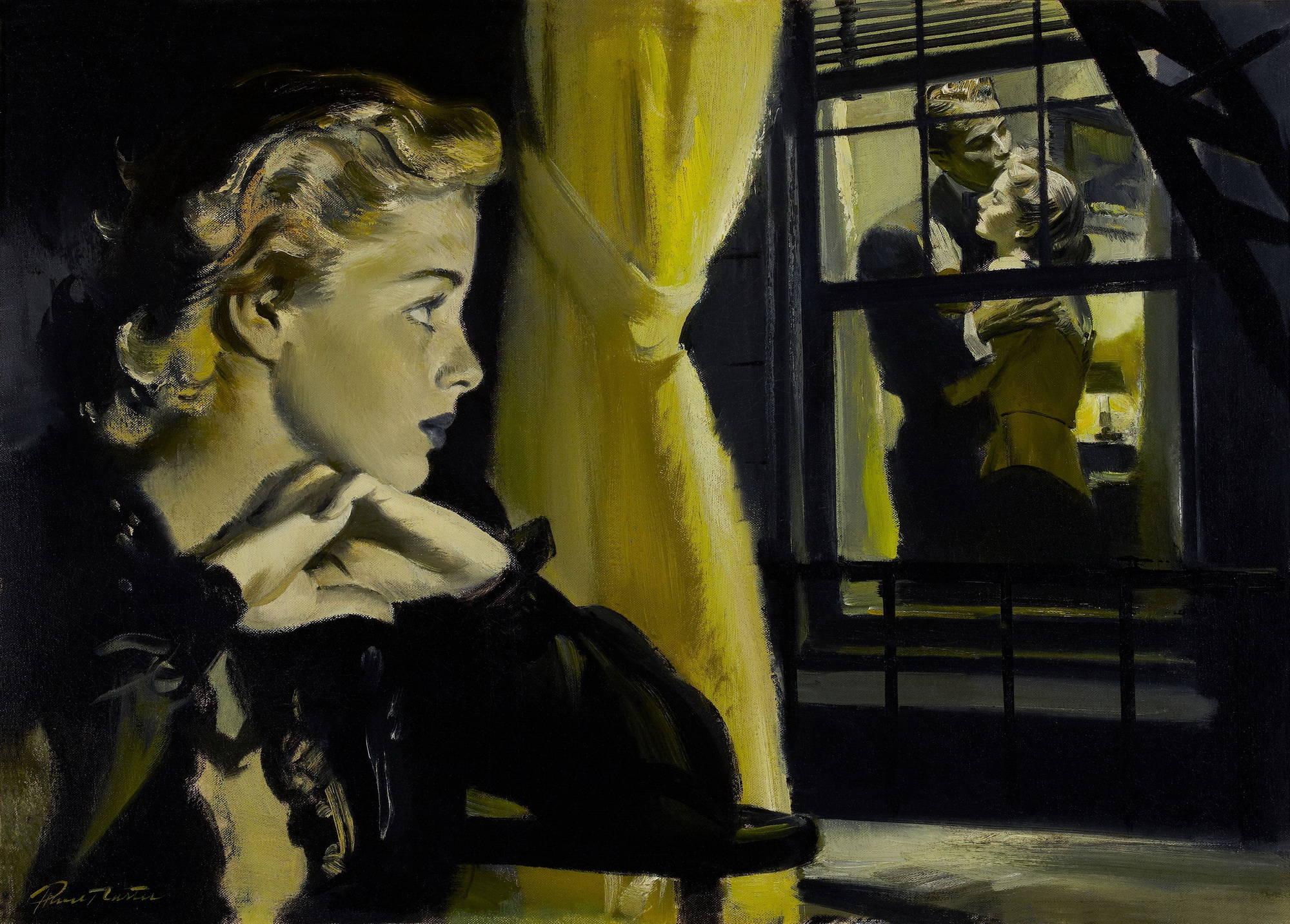 Прутт Картер (Pruett Carter) Через окно