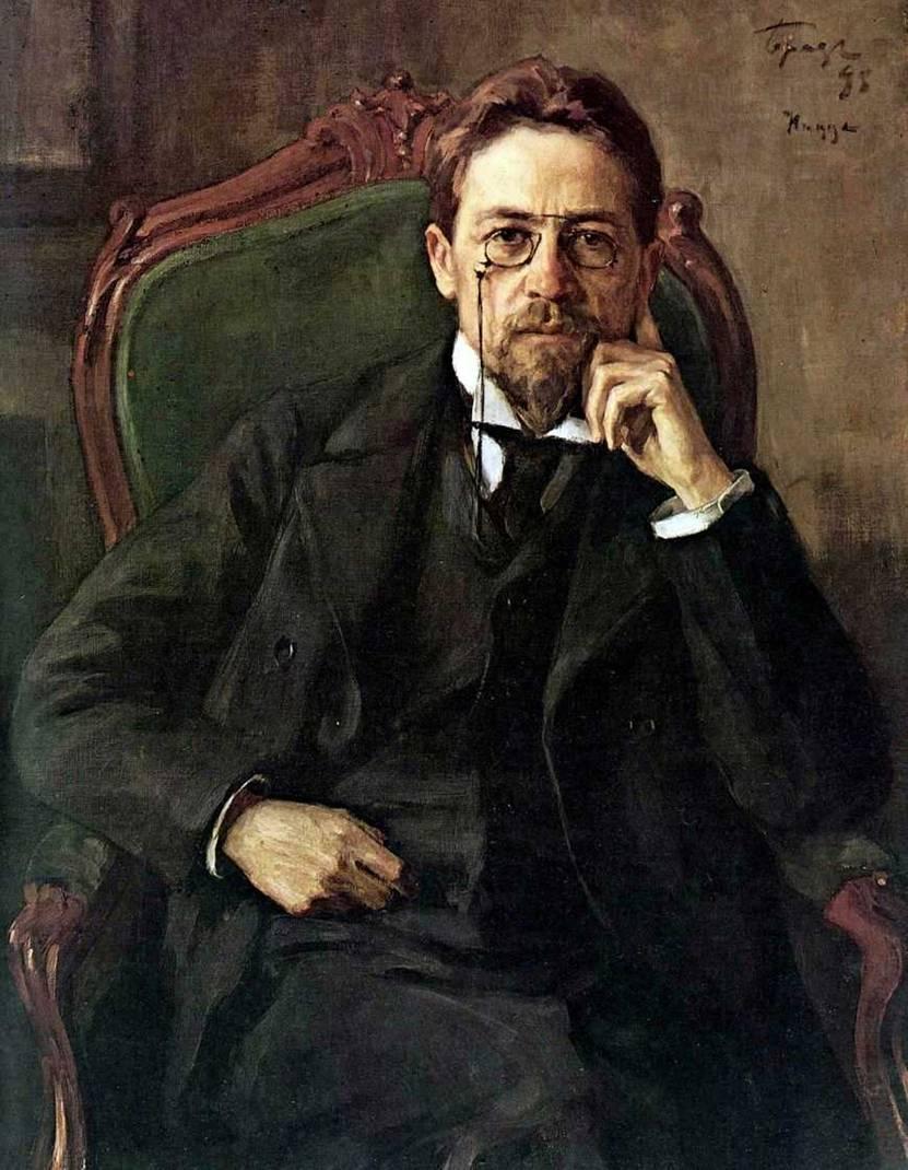 Картина Осипа Браза «Портрет Антона Павловича Чехова»