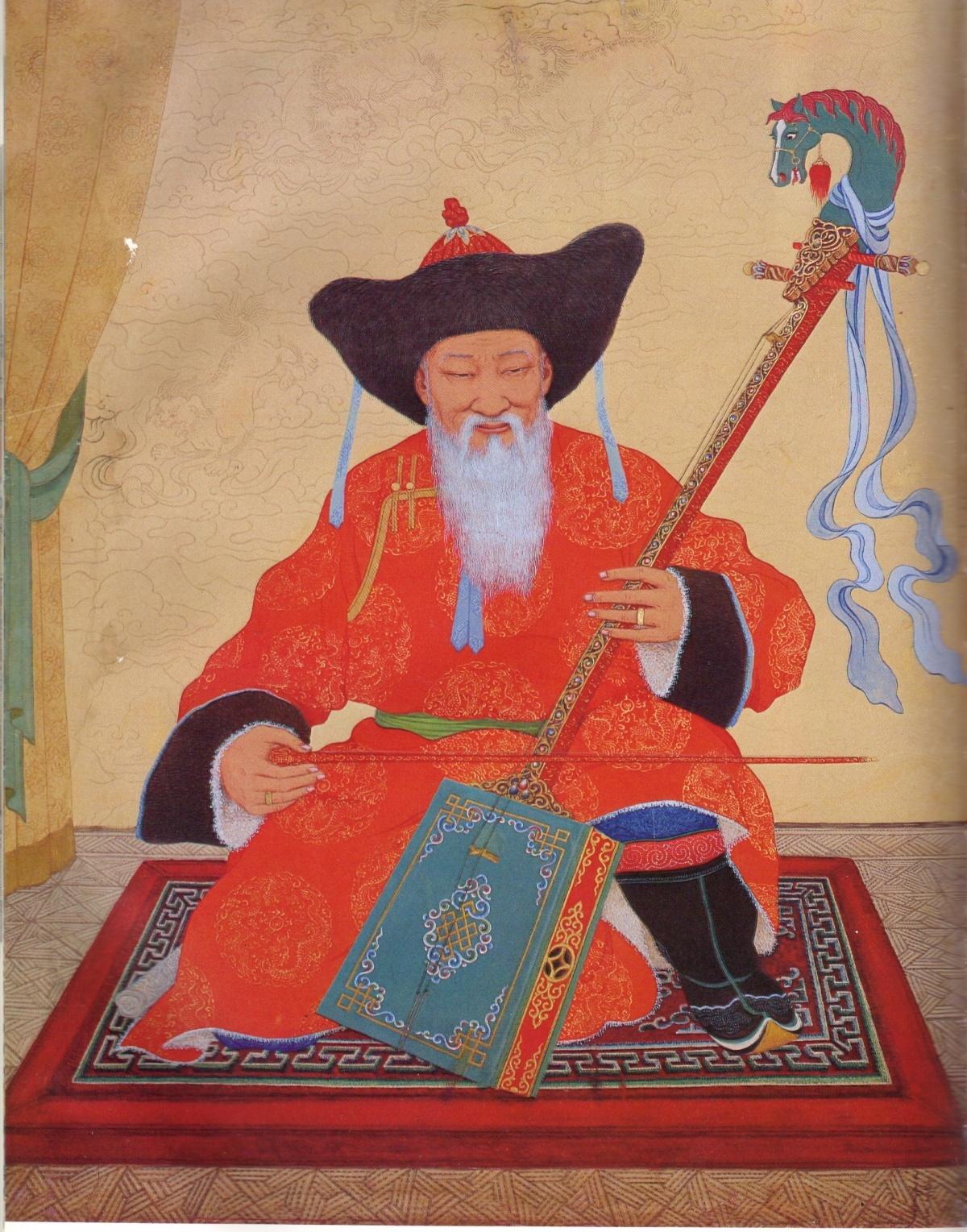 Уржингийн Ядамсурэн Старик-сказитель, 1958