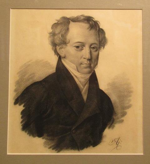 Неизвестный художник (монограммист А.Е.) Федор Тютчев, 1825
