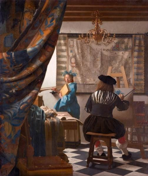 Ян Вермеер Аллегория живописи