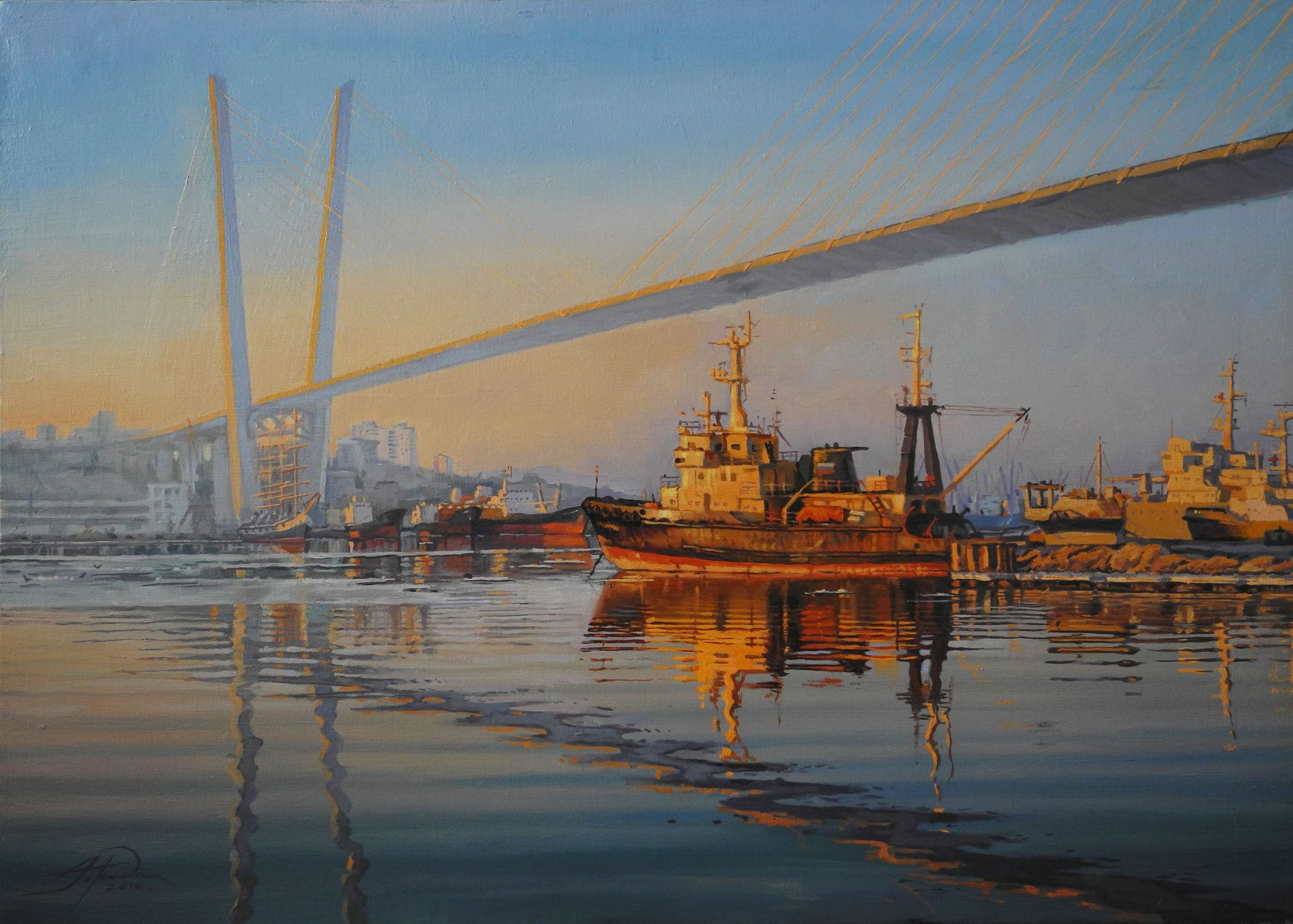 Городилов Александр. Золотой мост. Владивосток.