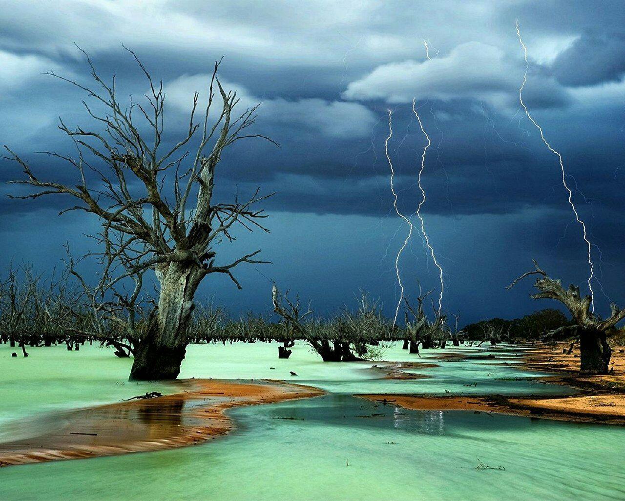 Джули Флетчер Фотография озера Менинди (Австралия)
