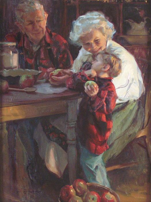 Даниэль Ф. Герхартц  ( род. 1965) Улыбка бабушки