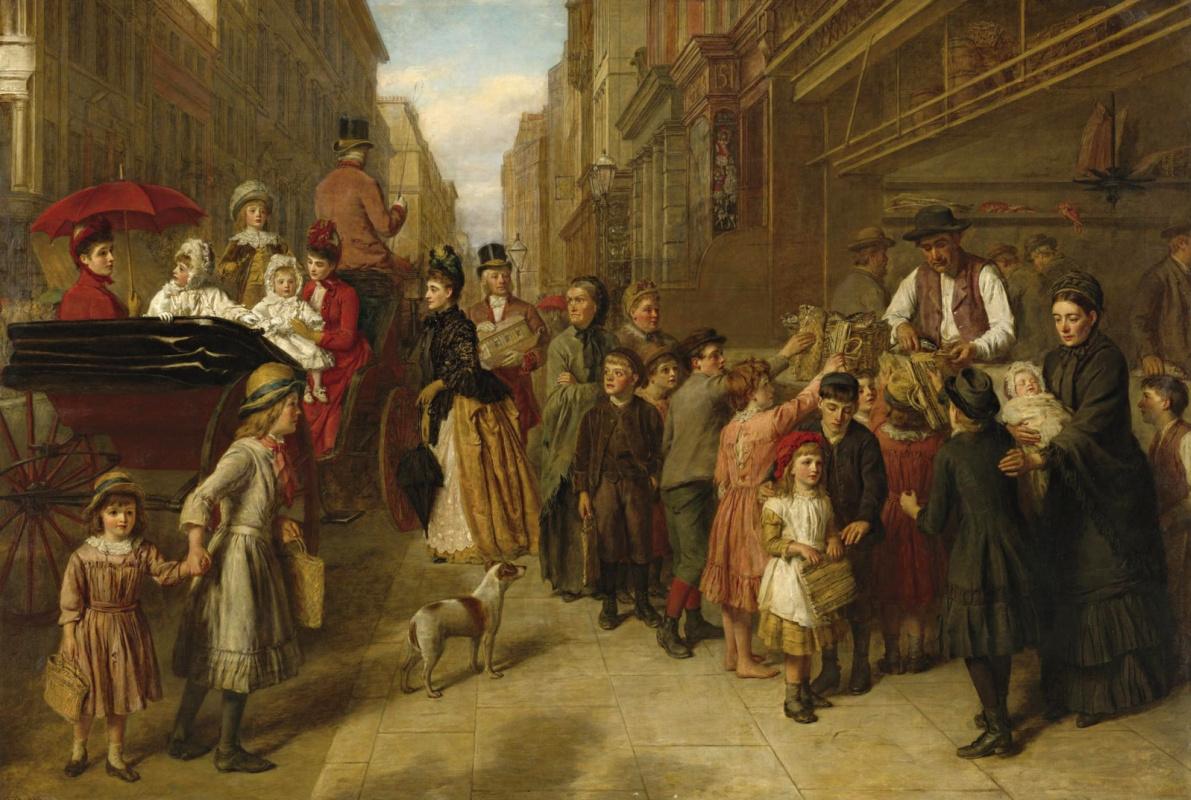 Уильям Фрайт. Бедность и богатство, 1888
