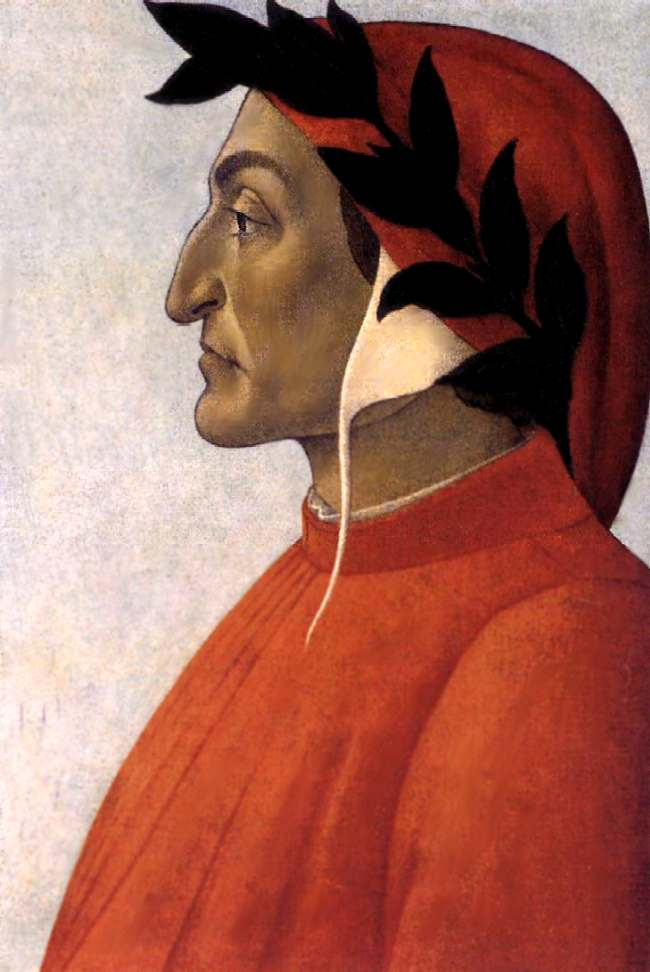 Сандро Боттичелли Портрет Данте
