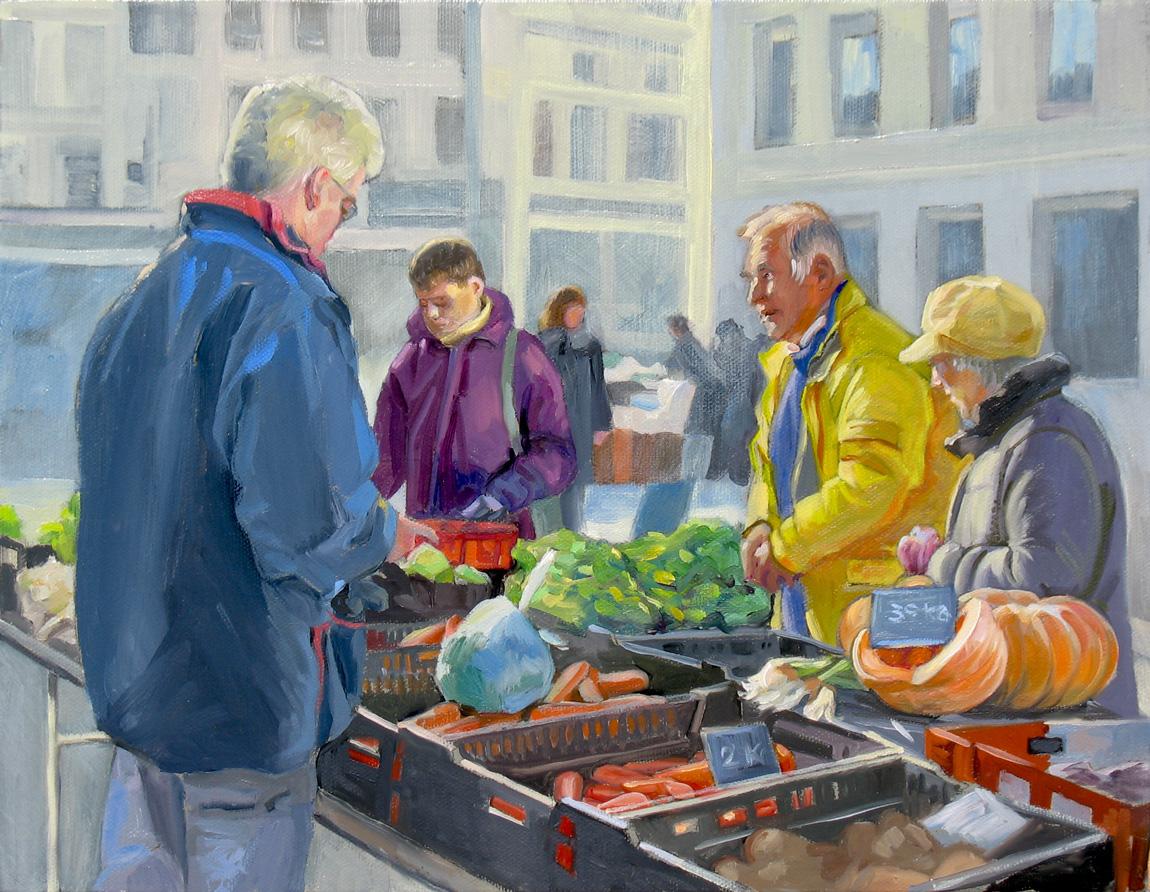 Доминик Амендола Продажа овощей