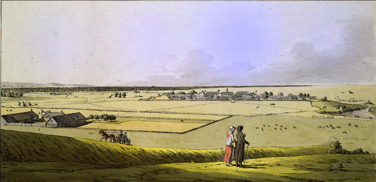 Христиан Готлиб Гейслер Ферма немцев Поволжья (Wolgadeutsche) близ озера Сарпа