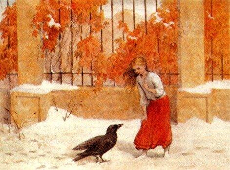 Анастасия Архипова Иллюстрация к сказке Г.Х. Андерсена «Снежная королева»