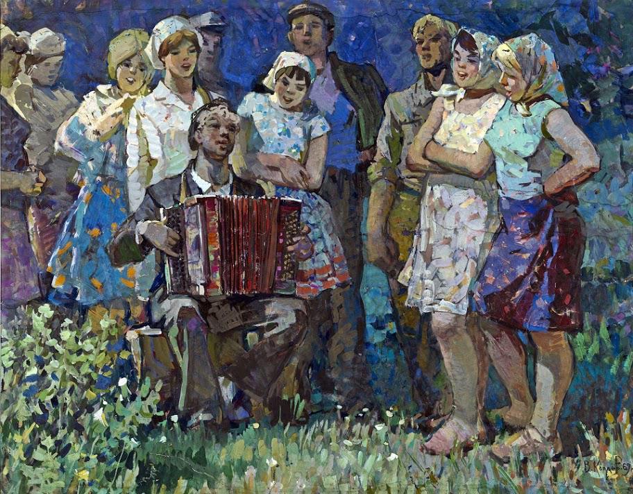 Владимир Копаев. Песня