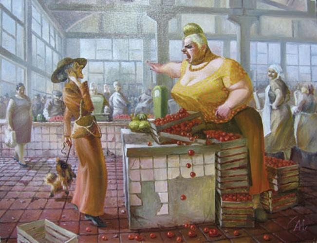 Александр Иванов. Смертоубийство на Конном базаре