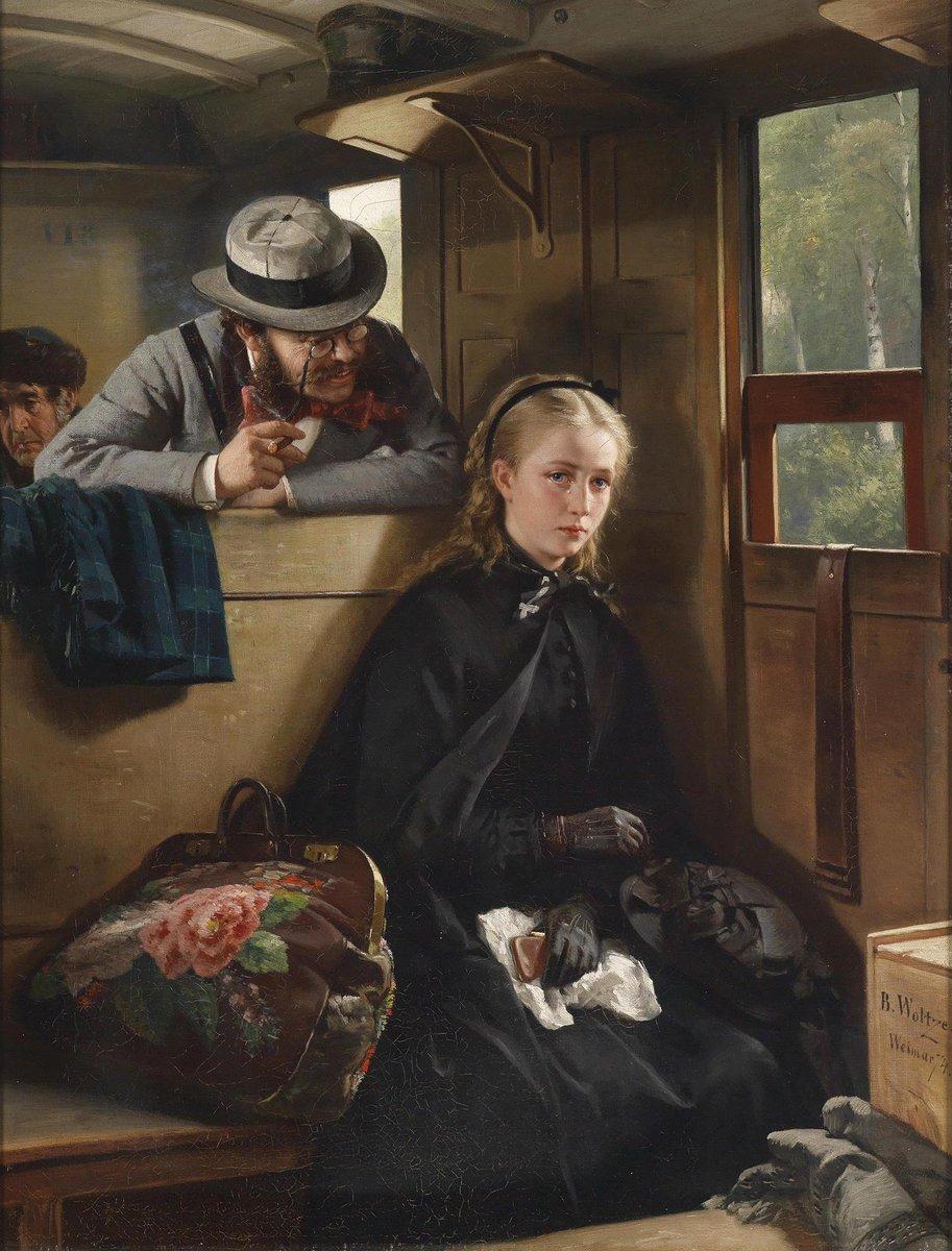 Бертольд Вольц. Назойливый господин, 1874 г