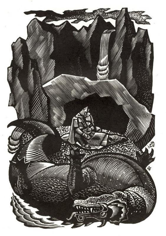 Владимир Носков Иллюстрация к Беовульфу, 1975