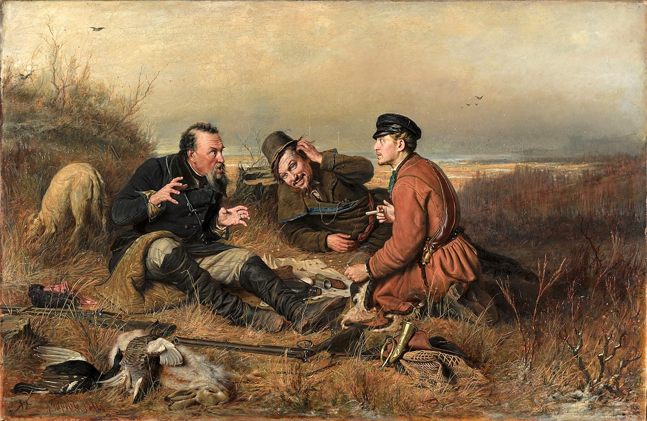 Василий Перов Охотники на привале 1871