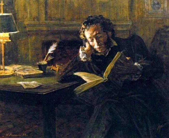 Николай Репин Пушкин. Вечер