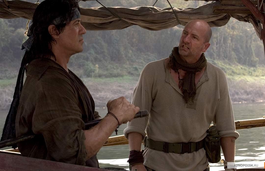 Кадр из фильма Рэмбо IV