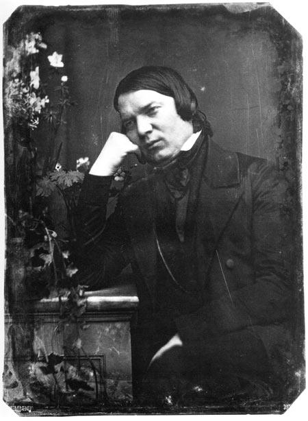 Роберт Шуман дагерротип 1850