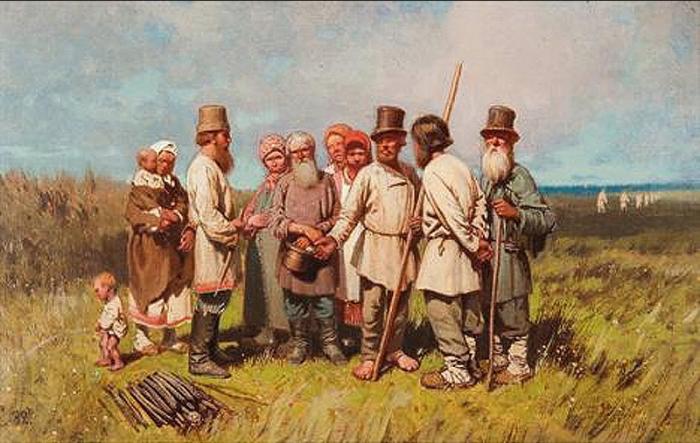 Петр Суходольский Разговор на покосном лугу