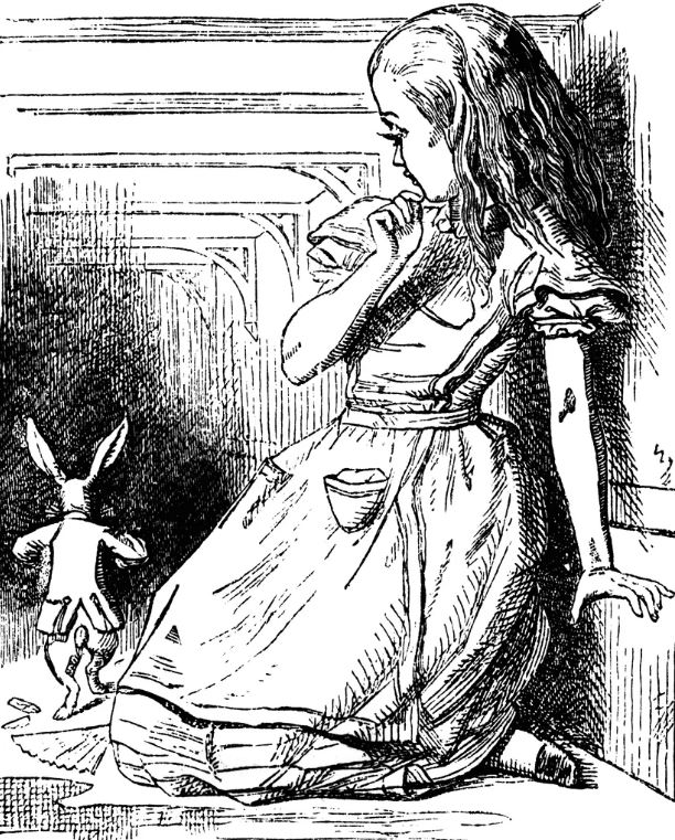 Джон Тенниел. Иллюстрация к «Алиса в Стране чудес» Льюиса Кэрролла