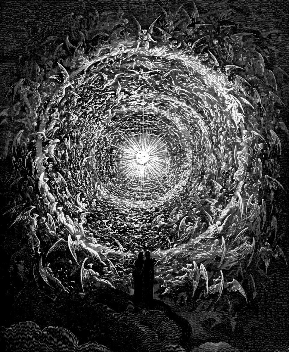 Гюстав Доре Иллюстрация ук Божественной Комедии Данте