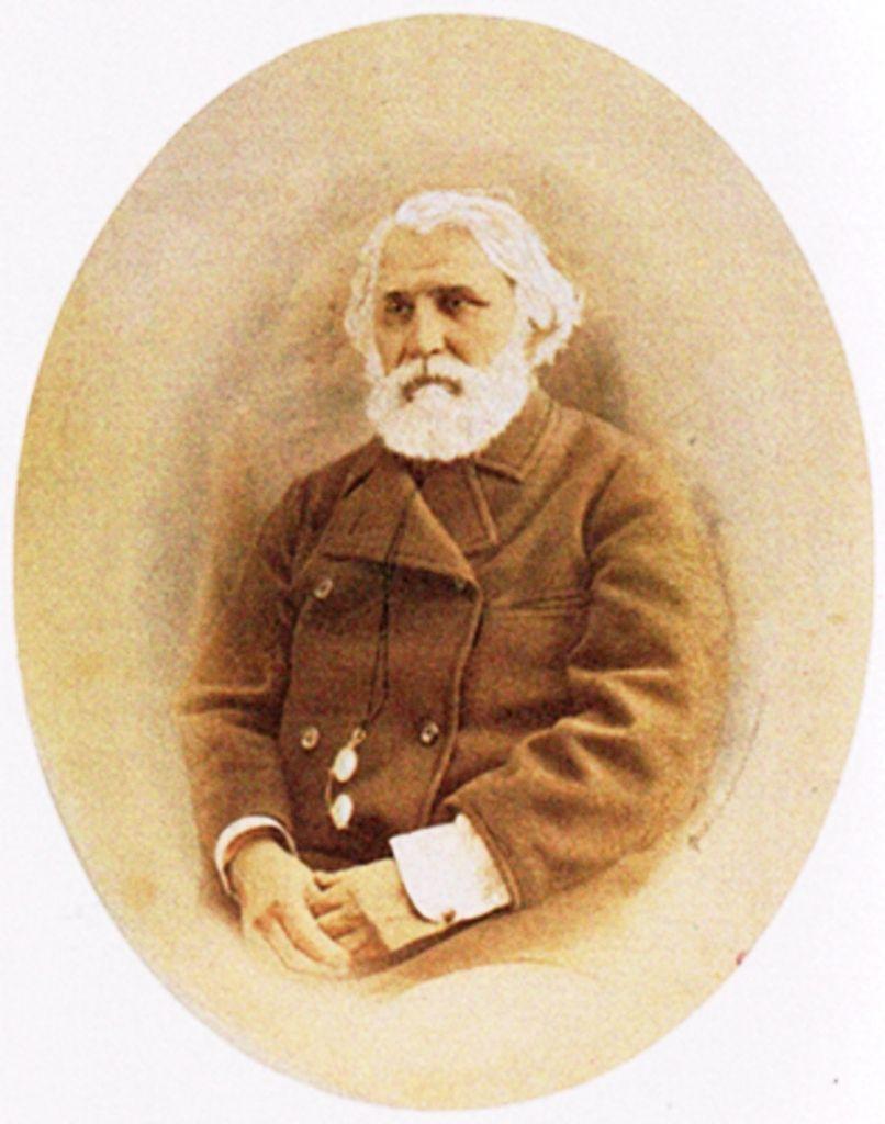 Фотография М.М. Панова. И.С. Тургенев. Москва. 1867.