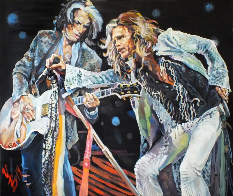 Инна Вольвак «Aerosmith» 2014