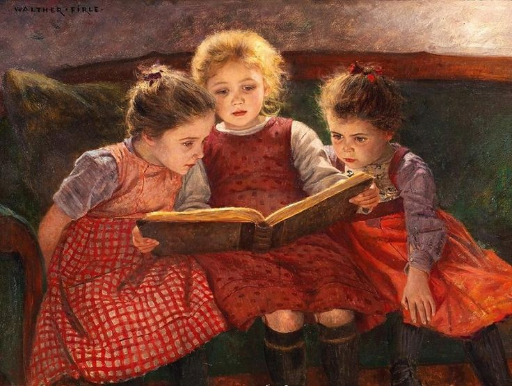 Вальтер Фирле (1859-1929) Время сказки