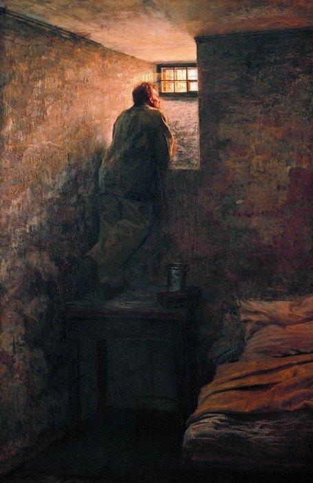 Николай Ярошенко. Заключенный