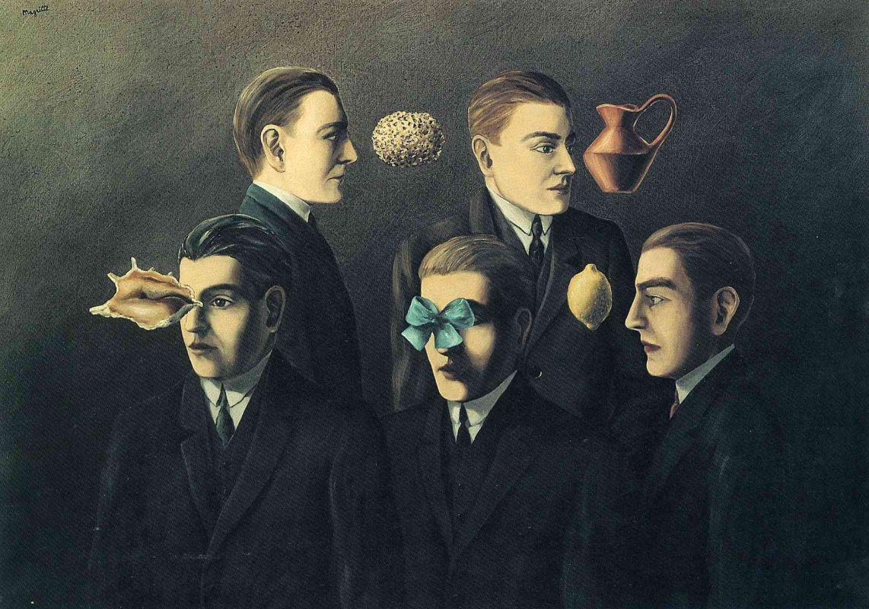 Рене Магритт Знакомые предметы, 1928
