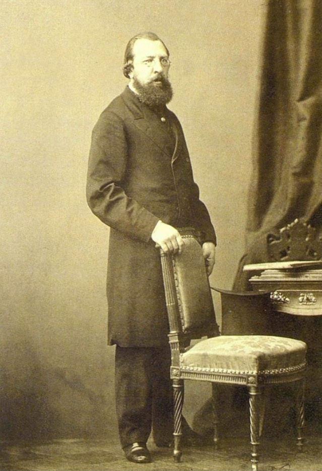 Иван Сергеевич Аксаков. 1865 г. Фото А. И. Деньера