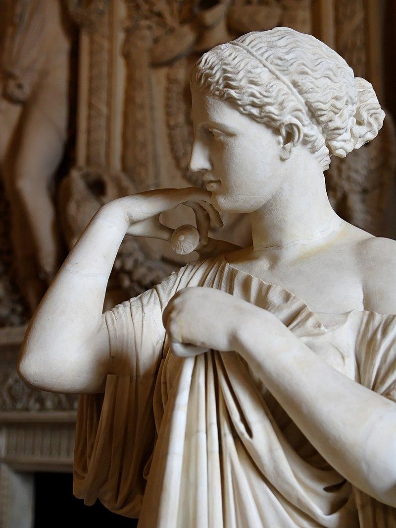Пракситель. Артемида из Габий. Мраморная римская копия греческого оригинала середины IV века до н.э.