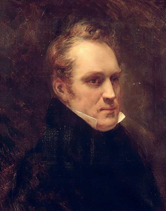 Ари Шеффер - Портрет Аймбл-Гийома-Проспера Бругьера (1782-1866) барона Баранта