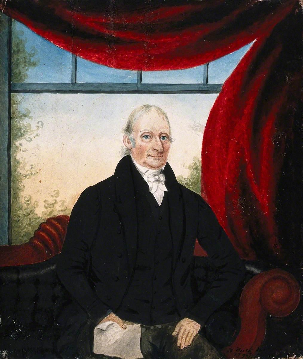 Адам Бак - Портрет аристократа, 1793