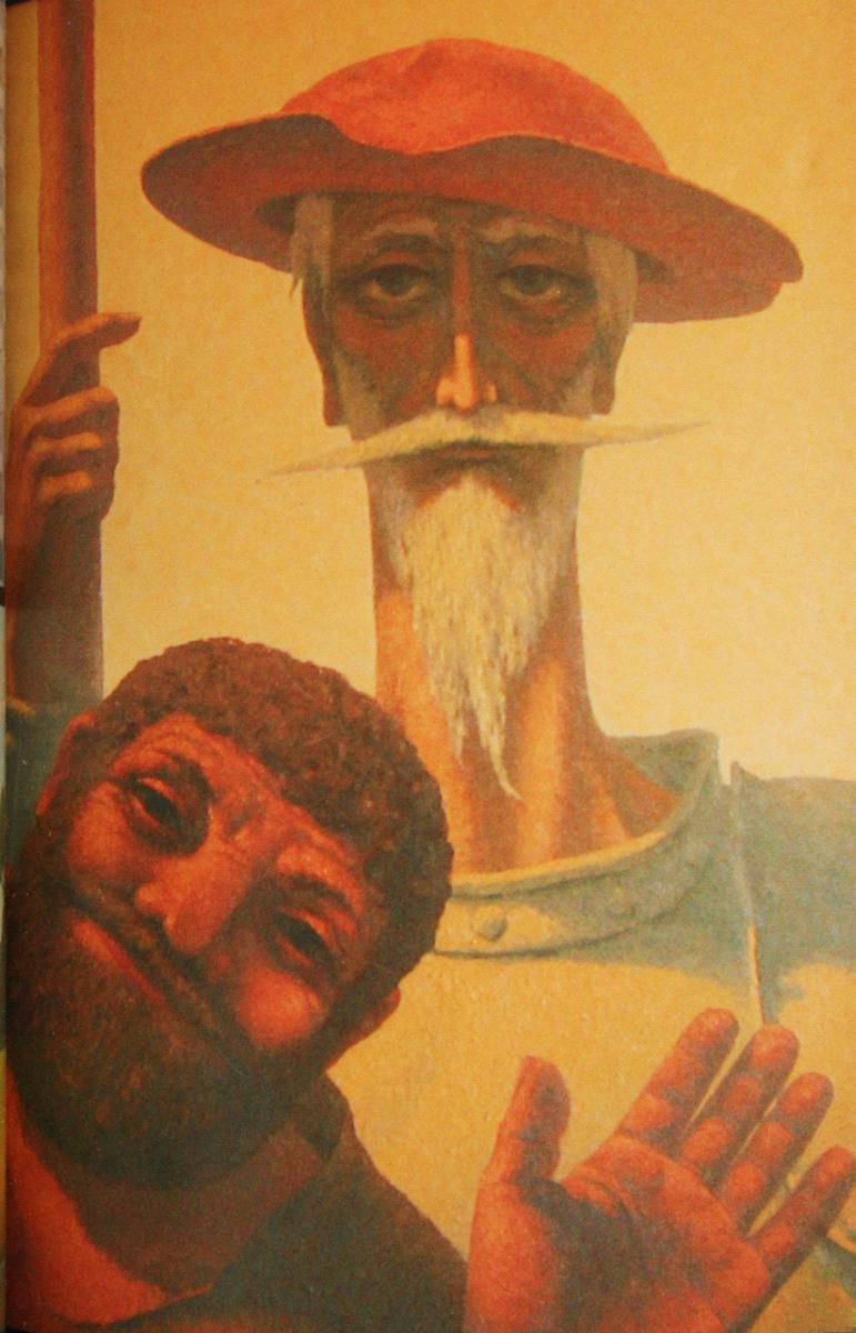 Николай Симкин. Дон Кихот и Санчо