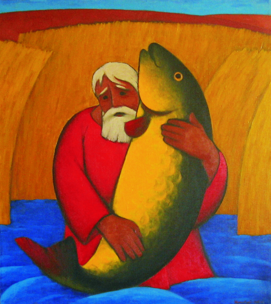 Николай Симкин. Старик и рыба