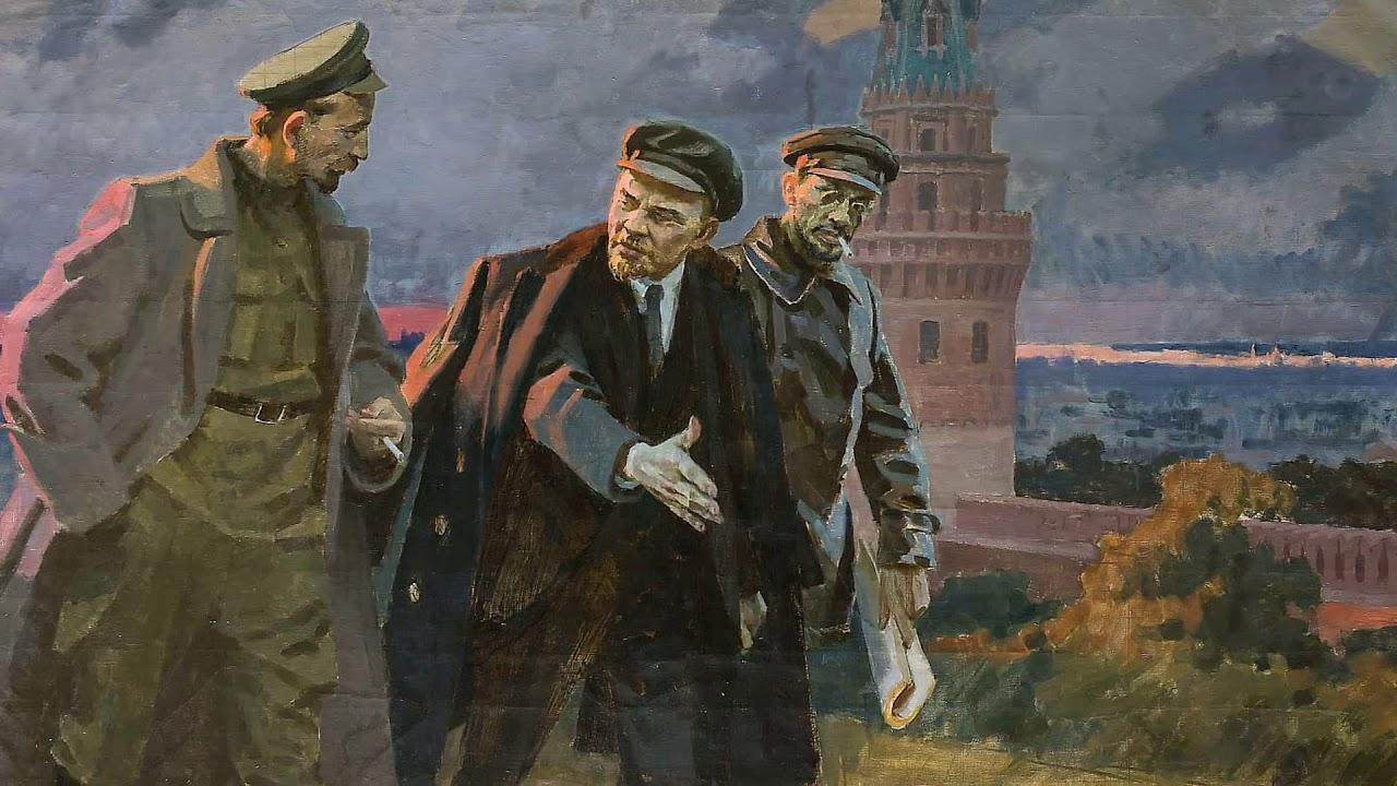 Сергей Бондар. Вожди Октября