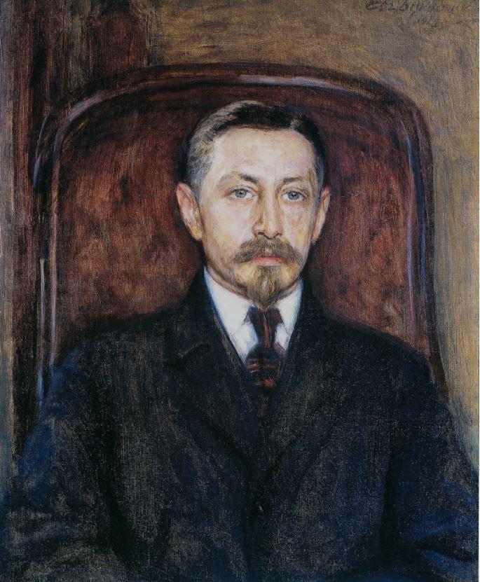 Евгений Буковецкий - Портрет Ивана Бунина, 1919
