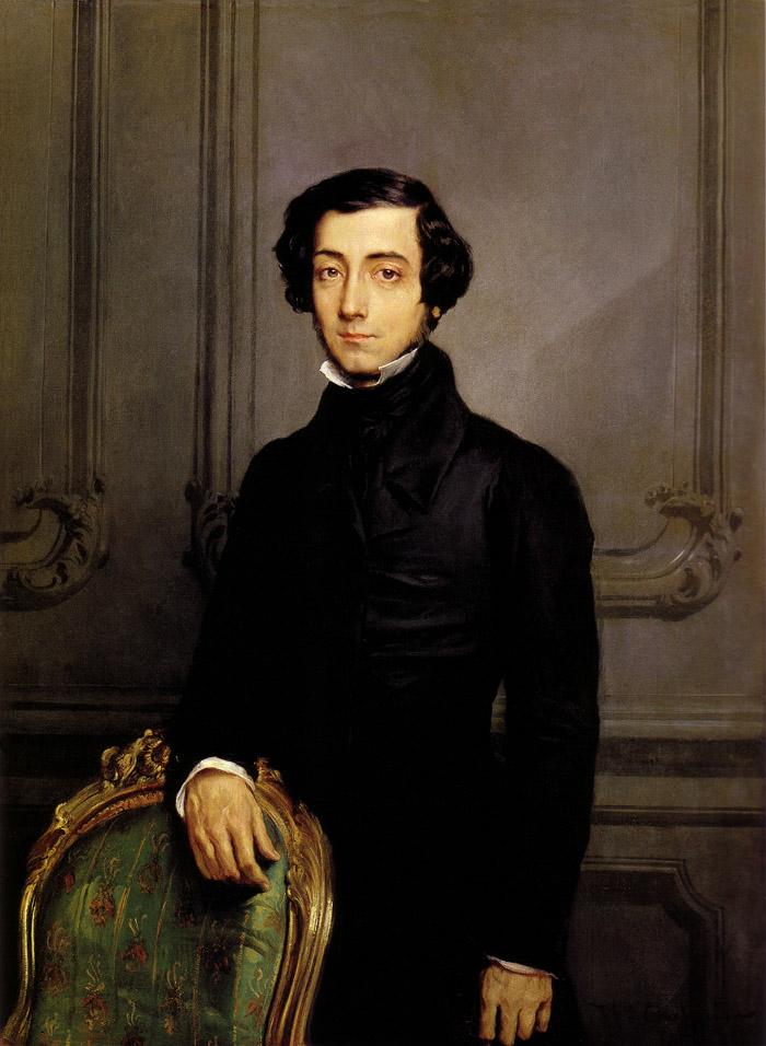 Теодор Шассерио – Портрет Алексиса де Токвиля, 1850