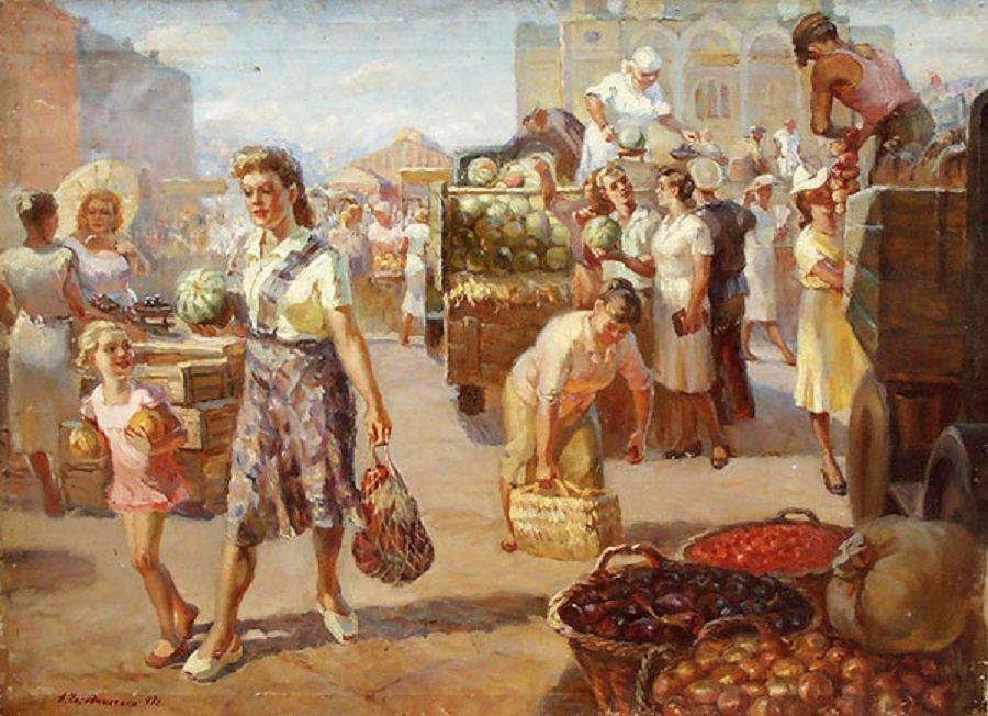 Анна Чередниченко. На базаре