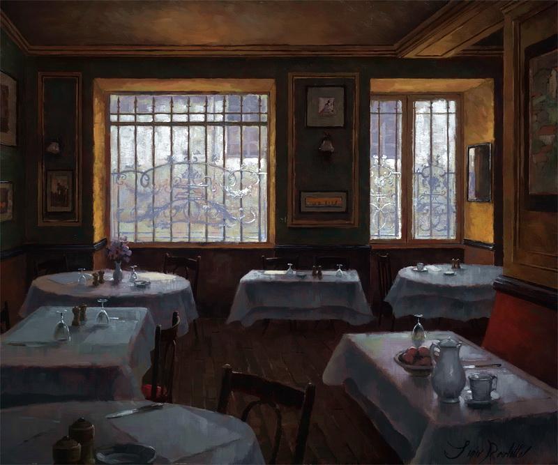 Леон Рулетт - Ресторан Chez Allard, 2010