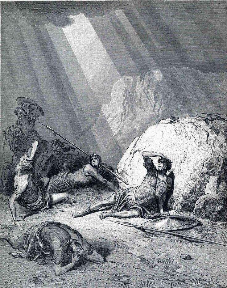 Гюстав Доре - Обращение Святого Павла, 1866