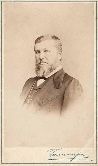 Николай Яковлевич Данилевский. 1867. Фотография Э.Болингера. С.-Петербург