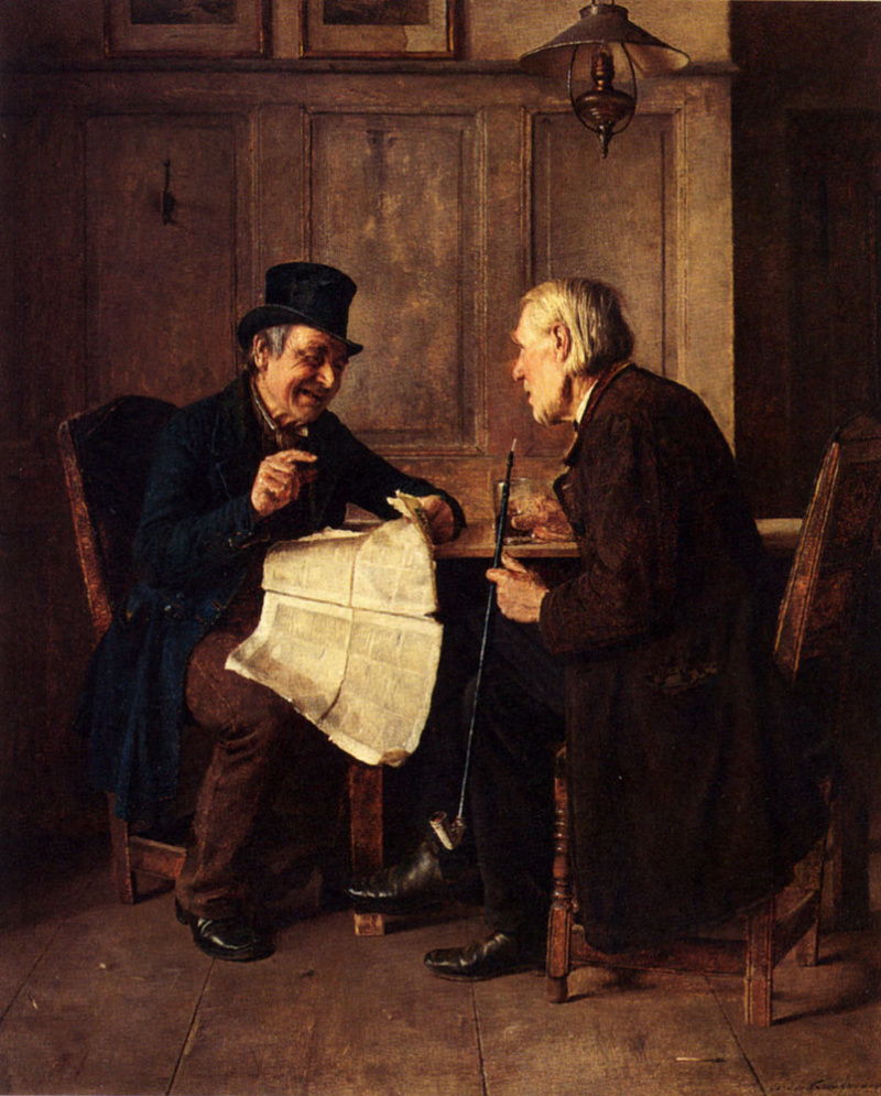Исидор Кауфман (1853-1921) - Эти маленькие смешные объявления