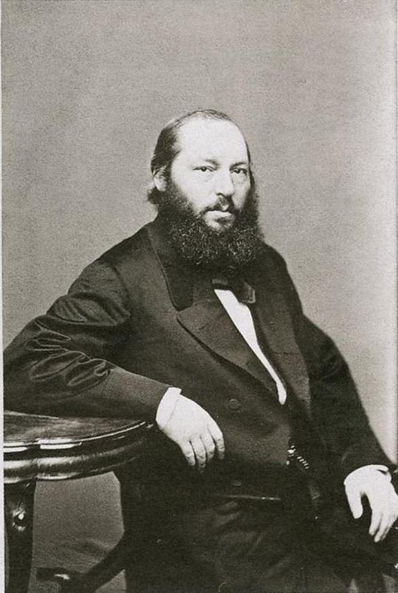 Афанасий Афанасьевич Фет - Фотография ателье Тулинова (1861-63 гг.)