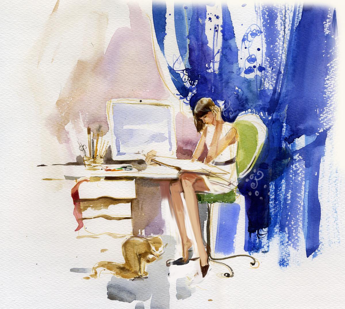 Вероника Калачева - Всё, что мне нужно для работы, 2008