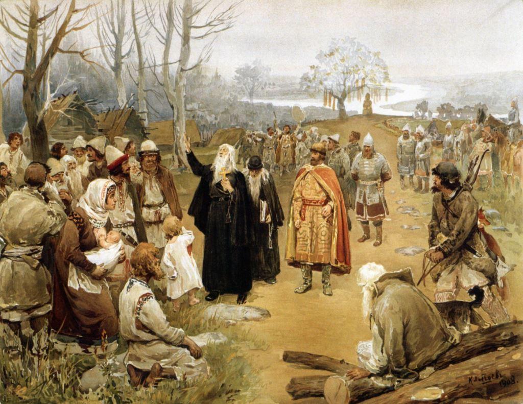 Клавдий Лебедев - Проповедь христианства, 1908