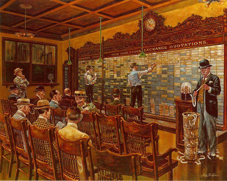 Ли Дьюбин, Фондовая биржа - 1910