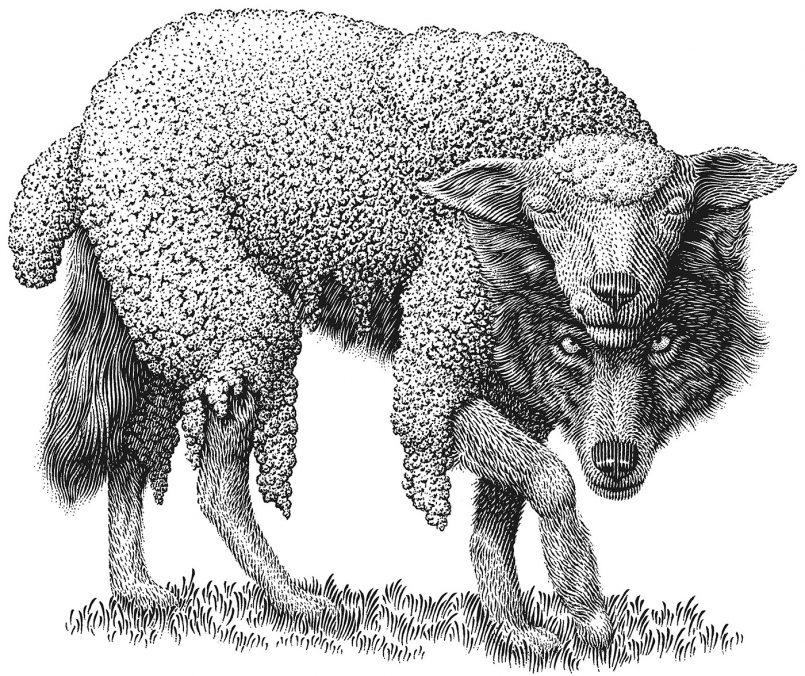 Майкл Холберт - Волк в овечьей шкуре