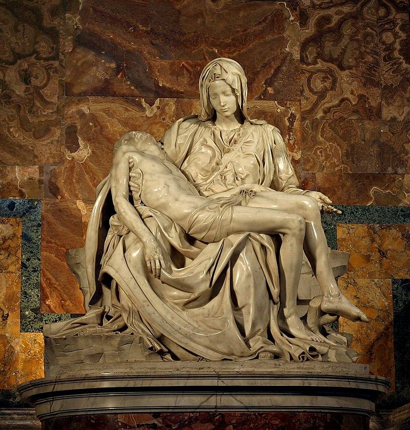 Микеланджело Буонарроти - Оплакивание Христа (Пьета), 1499