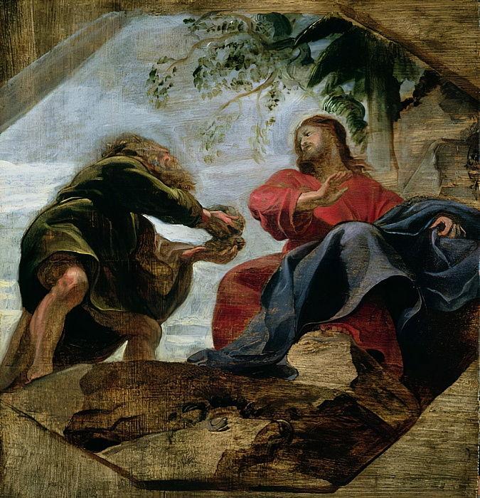Питер Пауль Рубенс - Искушение Христа, 1620